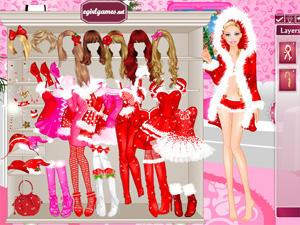 Barbie christmas dress up - Jeux de d habillage ...
