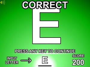 Alphabet Scramble