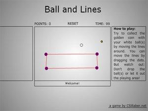 Ball And Line