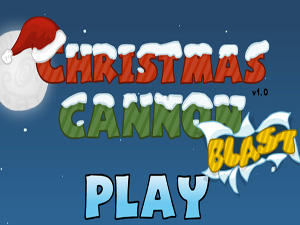 Christmas Cannon Blast