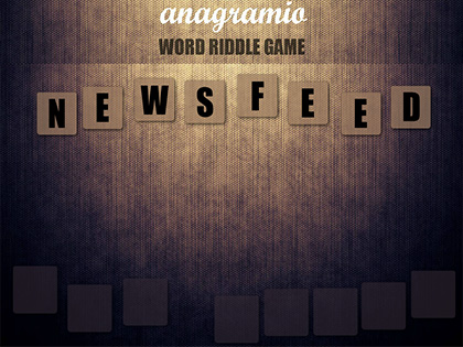Anagramio – Word Riddle Game