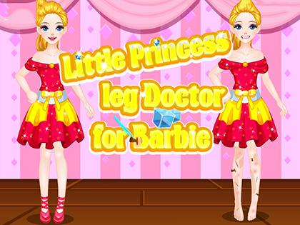 Little Princess Legs Doctor For Barbie