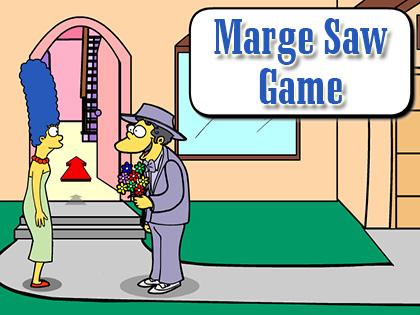 Marge saw game 6000jeux - Jeux de lisa simpson ...