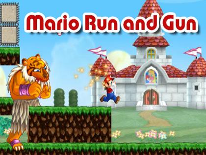 Mario Run And Gun