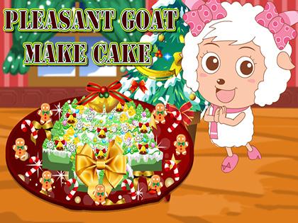 Pleasant Goat Make Cake
