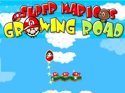 Super Mario Growing Road