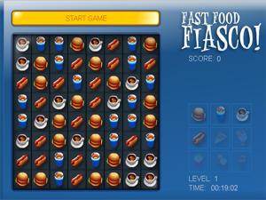 Fast Food Fiasco Jeu