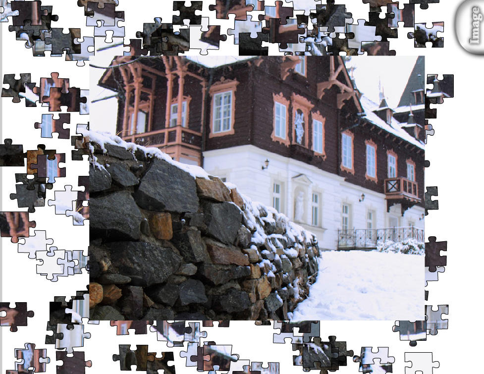 Jigsaw Winter House