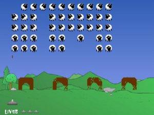 Sheep Invader