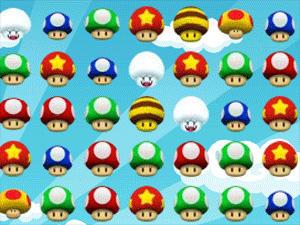 Mario Mushroom Matche