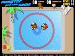 Monster Pool Side Sumo
