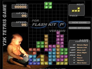 Y2K Tetris