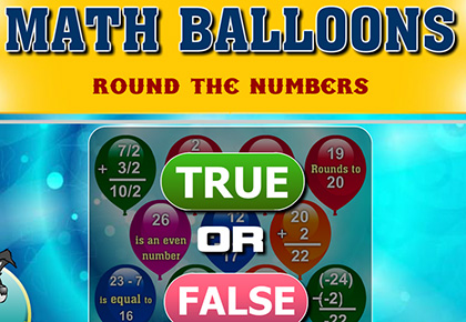 Math Balloons Round